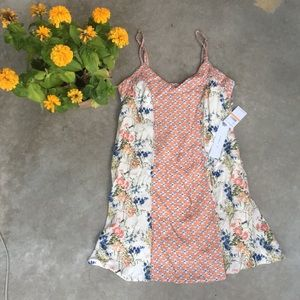 O'Neill Dress Brand New Floral Print Size S